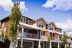 Suburban houses Stock Image