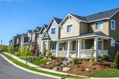 Suburban Houses Stock Photography