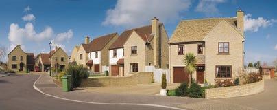 Suburban houses Royalty Free Stock Photos