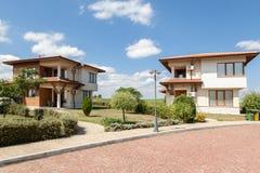 Suburban houses. Perfect neighborhood Stock Image