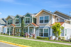 Suburban houses royalty free stock image