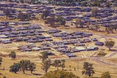 Suburban houses in rural neighbourhood in Australia. Suburban houses in rural neighbourhood in Australia Stock Photo