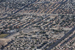 Suburban Las Vegas Sprawl Royalty Free Stock Photo