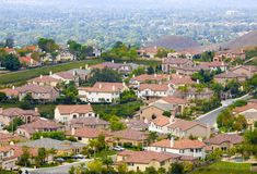 Suburban neighborhood Royalty Free Stock Photography