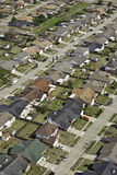 Suburban Neighborhood Aerial Stock Image