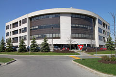Suburban office building royalty free stock images