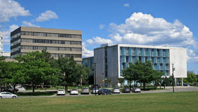 Suburban office buildings Stock Photo