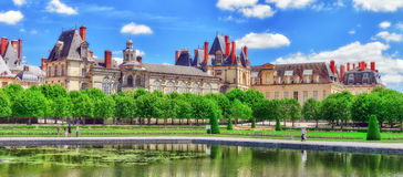 Suburban Residence of the France Kings . Royalty Free Stock Photo