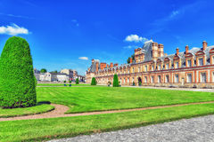 Suburban Residence of the France Kings . Royalty Free Stock Photos