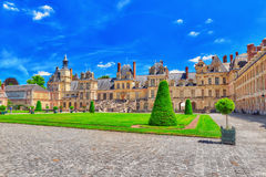 Suburban Residence of the France Kings . Royalty Free Stock Images