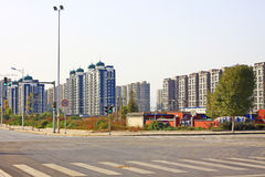 Suburban residential Stock Image