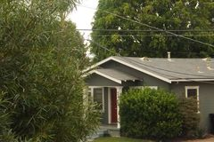 Suburban& x27;s house in City height, San Diego royalty free stock photo
