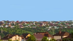 Suburban skyline stock photo