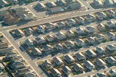Suburban sprawl Stock Photos