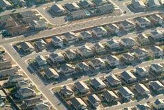 Suburban sprawl Stock Photos