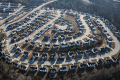 Suburban Sprawl Stock Photography