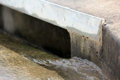 Suburban Stormwater Drain 1 Stock Photo