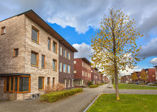 Suburban Terrace Houses Royalty Free Stock Images