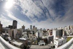 Suburban tokyo skyline Royalty Free Stock Images