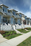 Suburban Townhomes Stock Image