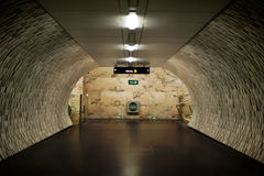 Suburban tunnel Royalty Free Stock Image