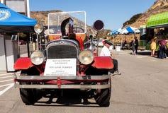 Suburbanite 1931 Seagrave красного цвета пожарная машина Pumper 500 GPM Стоковое Изображение
