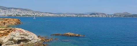 Suburbans do sudeste de Atenas, Grécia Fotografia de Stock
