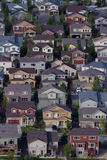 Suburbia. Typical american suburban development Stock Photography