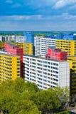 Suburbio de Berlín Imagenes de archivo