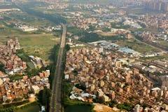 Suburbio de la ciudad de Guangzhou Foto de archivo libre de regalías