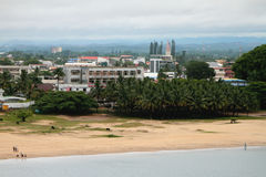 Suburbio de la ciudad, Toamasina, Madagascar Foto de archivo
