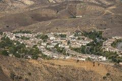 Suburbio de la ladera de California meridional Fotos de archivo