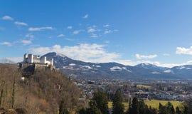 Suburbio de Salzburg Imagenes de archivo