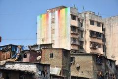 Suburbios de Bombay Foto de archivo libre de regalías