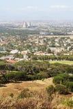 Suburbios de Ciudad del Cabo - visión aérea Imagenes de archivo