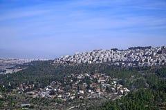 Suburbios de Jerusalén Imagen de archivo