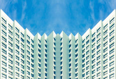 Suburbios de los hoteles del descuento Foto de archivo