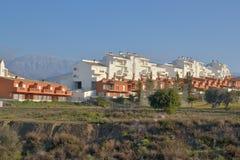 Suburbios Velez-Málaga foto de archivo