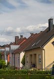 Suburbs houses Royalty Free Stock Photography