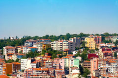 Suburbs of Istanbul. Typical building in a suburb of Istanbul, Turkey Royalty Free Stock Photo