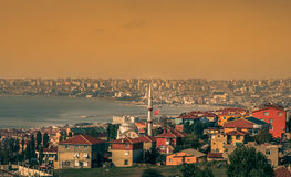Suburbs of Istanbul Stock Photo
