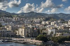 Suburbs of Messina Sicily Stock Photography