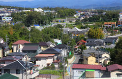 Suburbs of Nagoya city Stock Images