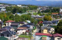Suburbs of Nagoya city Stock Image