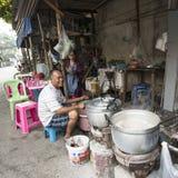 Suburbs view in Bangkok Royalty Free Stock Photo