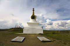 Suburgan in Kyzyl Royalty-vrije Stock Afbeeldingen