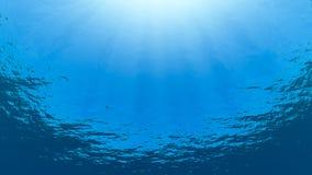 Subwater Fotografia Stock Libera da Diritti
