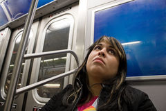 On the Subway Stock Images