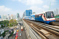 Subway in Bangkok Royalty Free Stock Photography