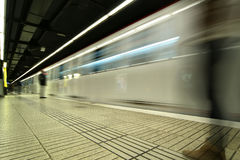 Subway in Barcelona Royalty Free Stock Images